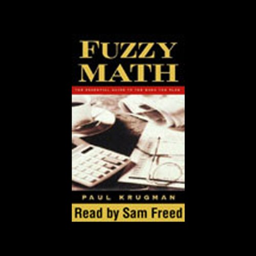 Fuzzy Math audiobook cover art