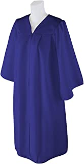 graduation gown blue