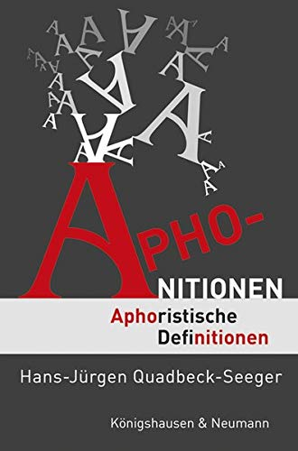 Aphonitionen: Aphoristische Definitionen