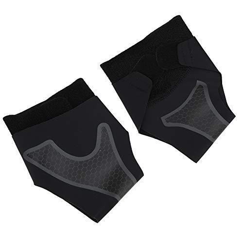 AMONIDA S Sport Compression Knöchelschutz, 1 Paar Knöchelschutz, schwarz atmungsaktiv zum Laufen Radfahren Fitness Radfahren Basketball Fußball Tennis Badminton(S Code)