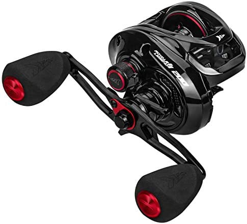 KastKing Royale Legend II 200 Baitcasting Fishing Reel, Wider High-Capacity Casting Reel, 5+1 Double Shielded Stainless Steel BB, 8 Button Magnetic Brakes, 6.4:1 Gear Ratio, 22 lb Carbon Drag