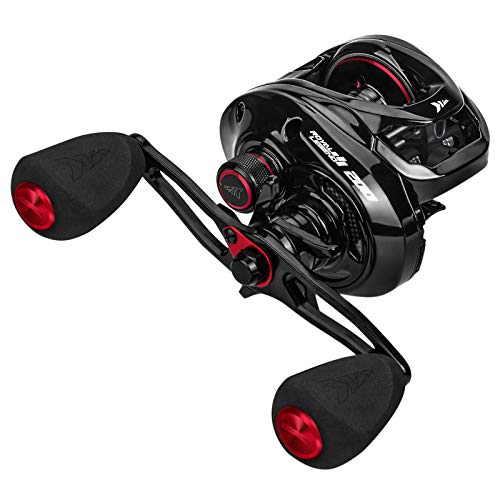 KastKing Royale Legend II Size 200 Baitcasting Reels, 6.4:1 Gear Ratio Fishing Reel, Right Handed