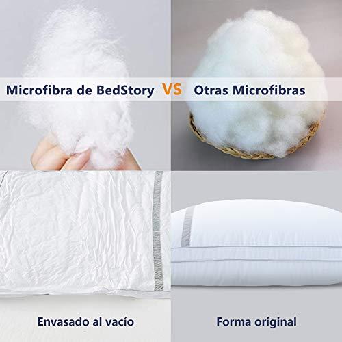 BedStory Pack de 2 almohadas antiácaros - 3