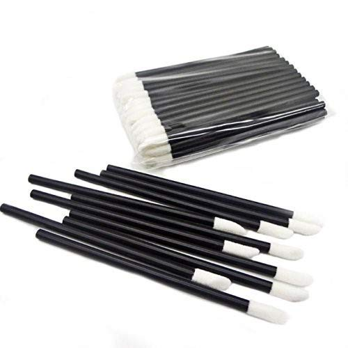 GoWorth 200Pcs/Set Disposable Lip Brushes Make Up Brush Lipstick Lip Gloss Wands Applicator Tool Makeup Beauty Tool Kits