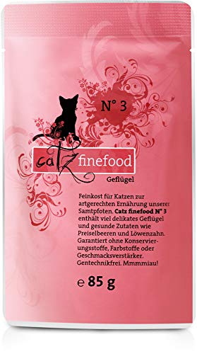 Catz finefood N ° 3 Volaille 1 x 200 g