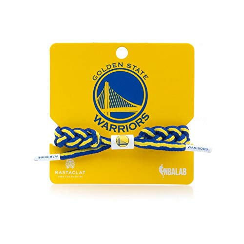 Rastaclat NBA Golden State Warriors Medium/Large Braided Bracelet