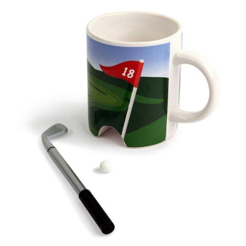 Golf Tasse Kaffeetasse mit Loch