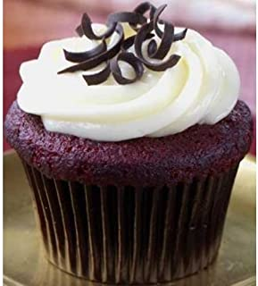 The Dream Factory Red Velvet Medium Cupcake, 12.54 Ounce -- 8 per case.
