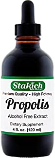 Stakich Bee Propolis 4 Ounce Liquid Extract - No Alcohol