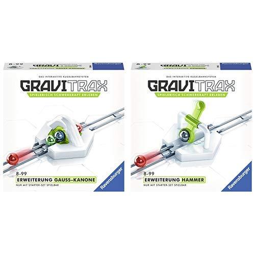 GraviTrax 27594 Gauss Kanone Konstruktionsspielzeug & 27592 Hammerschlag Konstruktionsspielzeug