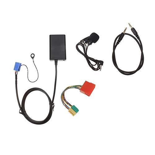 LIULIANG MeiKeL Coche Bluetooth AUX Handfree Adaptador USB Audio Audio Aux-in Cable Fit para Audi A3 8L 8P A4 B5-B7 A6 4B A8 4D