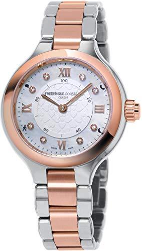 Frederique Constant Geneve Horological Smartwatch FC-281WHD3ER2B Smartwatch Klassisch schlicht