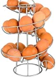 Baorio - Dispensador de huevos en forma de espiral con forma de huevo, con asa