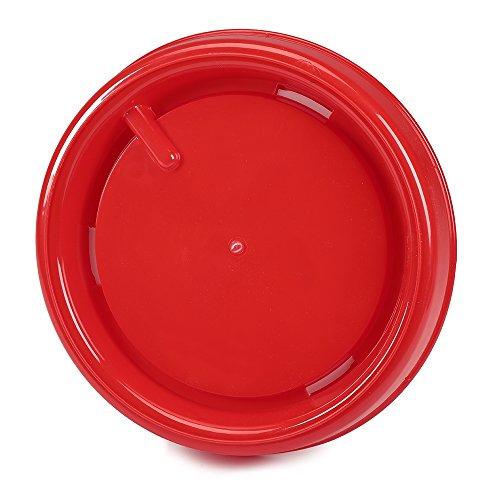 15 Liter Kunststoff Stülptränke Hühnertränke Trinknapf Geflügeltränkeeimer - 3