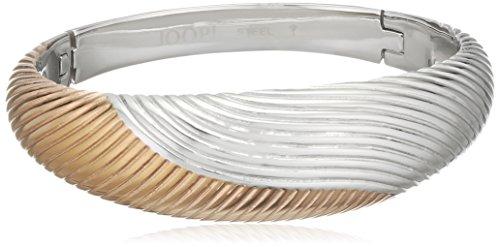 Joop! Damen-Armreif Waves Edelstahl teilvergoldet 0 cm - JPBA10084A600