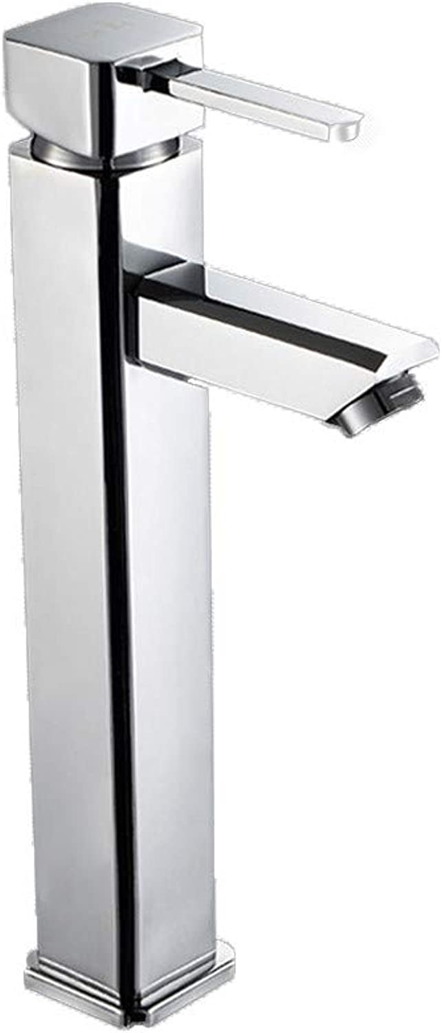 redOOY Taps Faucet Basin Bathroom Copper Height Table Basin Faucet Single Hole Faucet Basin Faucet Bathroom Bath Cabinet Faucet