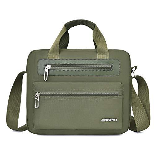 Laptop Bag Backpack Fashion Male Bags Business Men Shoulder Bags Outdoor Large Capacity Travel Belt Messenger Bag Green-Horizontal Free Fast Delivery