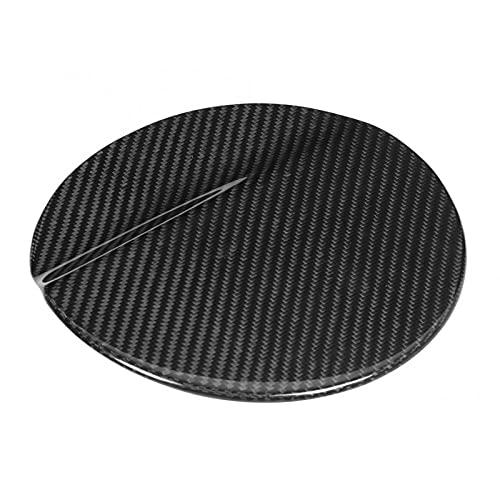 vitesurz Modificación del Coche del Casquillo de la Cubierta de la Puerta del Combustible del Gas de la Fibra de Carbono,para Ford Mustang 2014 2019