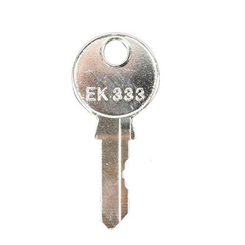 1108-1-1 EMKA EK333 Key Silver Grip Key
