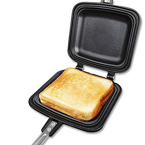 ホットサンドメーカー 直火・ih対応 具だくさん対応 耳まで焼ける フチが圧着 フッ素樹脂加工 お手入れ簡単 丸洗い 焦げ付きにくい アウトドア 家庭用 Vsadey