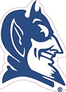 3 Inch Devil Logo Decal Duke University Blue Devils Removable Wall Sticker Art NCAA Home Room Decor 2 1/2 by 3 1/2 Inches