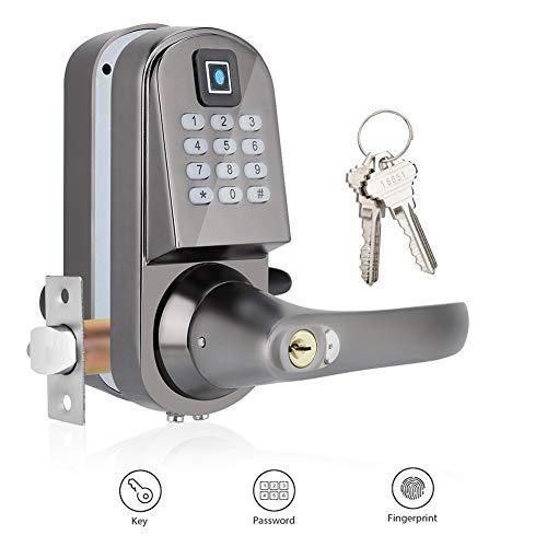 Cerradura de puerta digital, Cerradura antirrobo inteligente con múlt