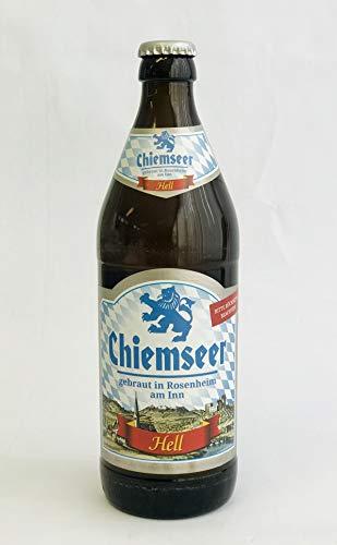 Chiemseer Hell 12er x 0,5 Bayerisches Bier Bierbox Geschenk Originell