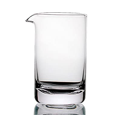 Cocktail Mixing Glass - Premium Series - Seamless & Handblown - 550ml (Plain)