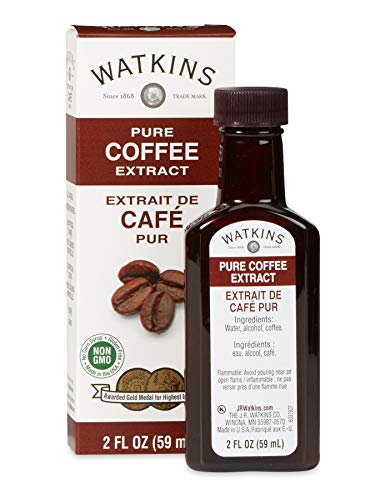 Watkins Pure Coffee Extract, 2 oz. Bottles, Pack of 6 (Packaging May Vary)