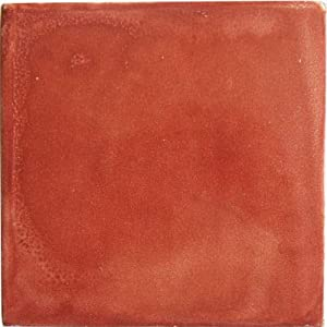 Fine Crafts Imports 2x2 36 pcs Terracota Talavera Mexican Tile