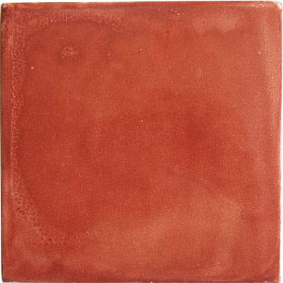 Fine Crafts Imports 6×6 4 pcs Terracotta Clay Tile