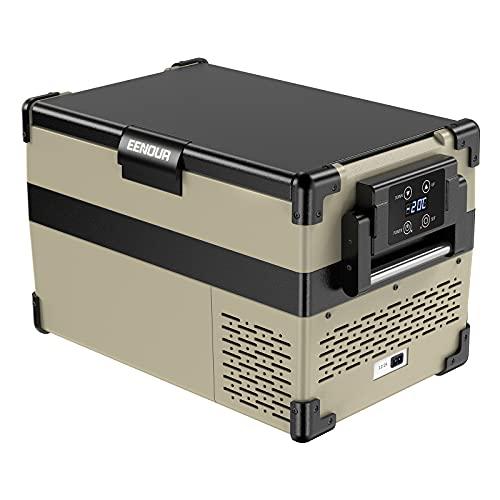 EENOUR 車載冷蔵庫 32L -20℃~10℃ コンプレッサー式 3WAY電源対応 AC100V DC12V/24V 防災製品等推奨品 ポー...