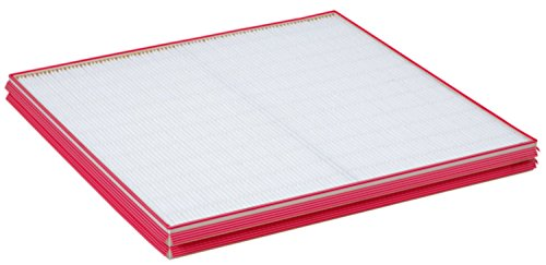3M Commercial HVAC Filter MERV A13 Mini-Pleat with Gasket E693, 25 in x 25 in x 2 in