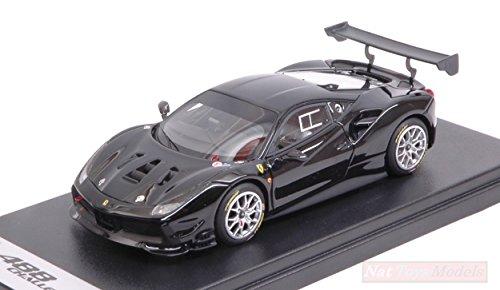 LOOKSMART Modelo A Escala Compatible con Ferrari 488 Challenge Nero DS 1250 1:43 LS476D