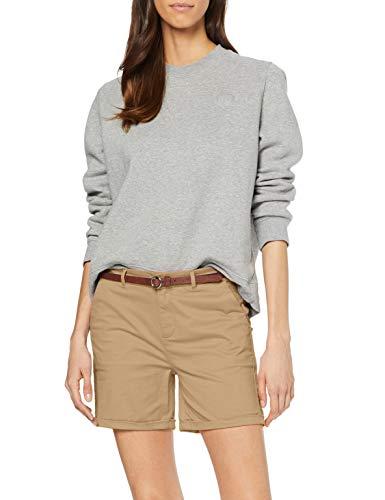 Scotch & Soda Maison Damen Baumwoll Shorts, Beige (Sand 0137), W32(Herstellergröße:32)