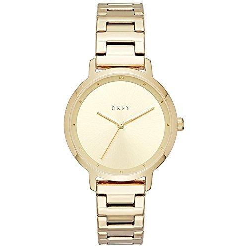 DKNY Damen Analog Quarz Uhr mit Edelstahl Armband NY2636