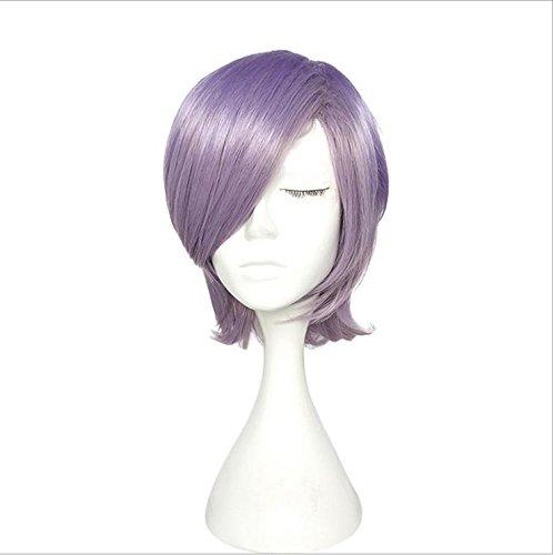 Perücken Haarverlängerungen SMX&xh Frauen-Perücke-kurzer Bob-mittlerer Teil gerade für purpurrote Perücke 80S 90S Abendkleid-Partei Cosplay Frisur