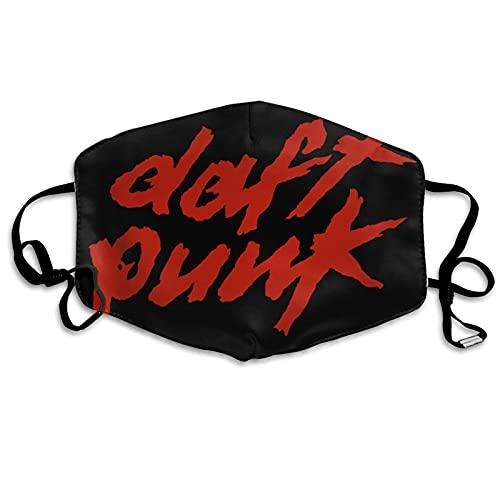 asdew987 Daft Masque en tissu avec logo punk pour nez et bouche, lavable, respirant, réutilisable, multifonction, pour homme et femme