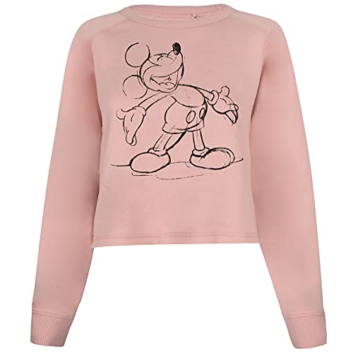 Disney Mickey Giggles Suter Pulver, Rosa, S para Mujer