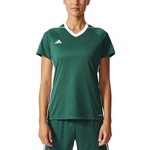 Adidas Tiro 17 Womens Soccer Jersey XL Green-White