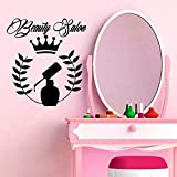 zqyjhkou Wall Sticker Vinyl Applique Beautiful Girl Hijab Arab Islam Home Art Deco Living Room Bedroom Mural 79x86cm