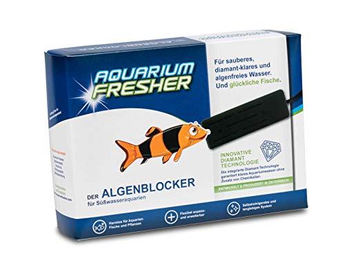 AquariumFresher für Aquarien bis 200L | Algenentferner gegen Algen | bekämpft Algen | Algenvernichter | sauberes Wasser