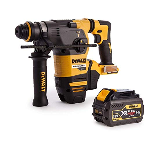 Dewalt DCH333N 54V XR Brushless Flexvolt 3 Mode SDS+ Hammer Drill with 1 x 6Ah Battery