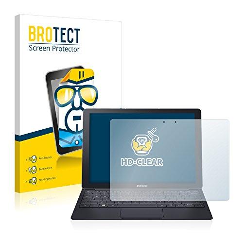 BROTECT Schutzfolie kompatibel mit Samsung Galaxy Tab Pro S 12.0 (2 Stück) klare Displayschutz-Folie