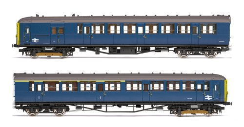 Hornby R3258 00 Gauge Br 2-bil Train Pack (blue) Version Anglaise