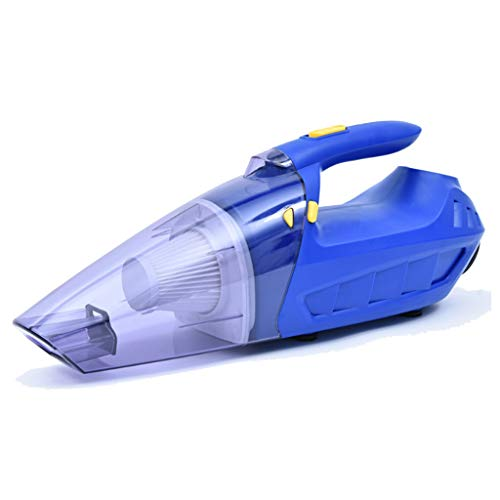 TONG YUE SHOP Voiture Haute Puissance aspirateur 150w Humide et Sec à Double Usage Multi-Fonction Pompe à air de Voiture Facile à Transporter Bleu