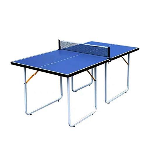 Stoge 2020 Tischtennisplatten Mit 2 Paddeln Und Bällen, Mittelgroßer Und Faltbarer Tischtennisplatte Für Heimunterhaltung, Indoor-Sportmatch