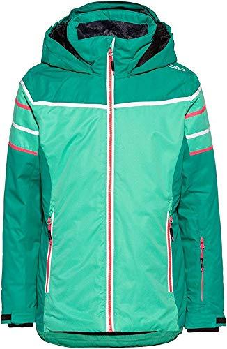 CMP Mädchen Skijacke 39W2025 Jacke, Aquamint, 98 (XS)