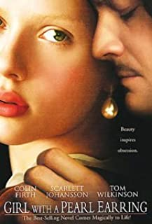 Girl With A Pearl Earring (dvd 2003) Scarlett Johansson, Colin Firth