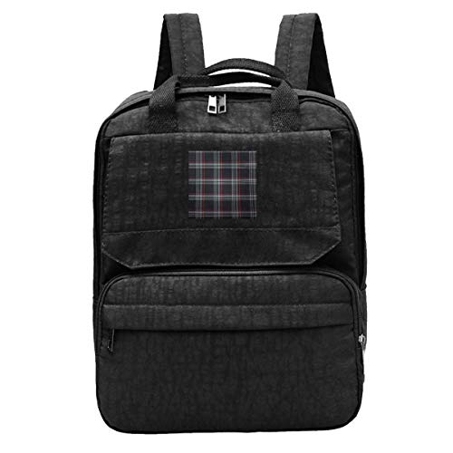DJNGN Travel Backpack Golf GTI Plaid Face Gym Hiking Daypack College Laptop and Notebook Bag for Women & Men